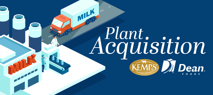 Dean Foods Plant Acquired by Kemps, Subsidiary of Dairy Farmers of America