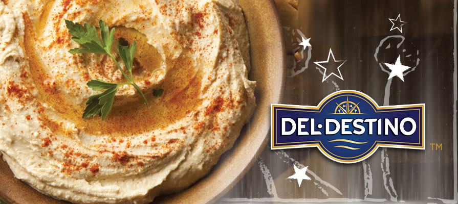 Del Destino Offers All-Natural Shelf-Stable Format Hummus