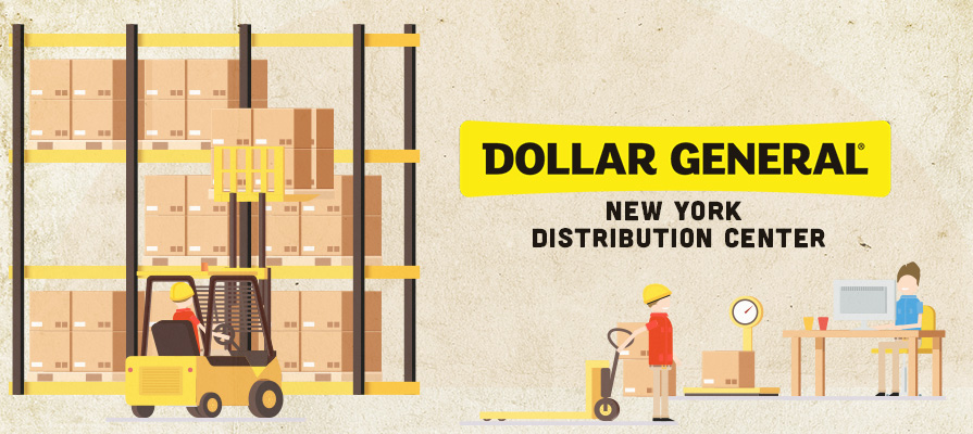 Dollar General to Build New Distribution Center in New York