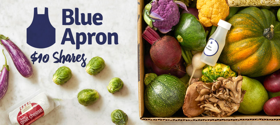 Blue Apron IPO Launches $4 Less a Share Than Anticipated