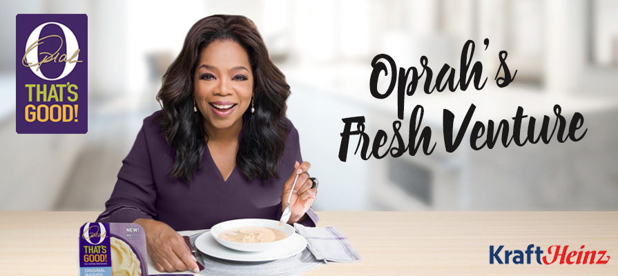 Oprah Winfrey and Kraft Heinz Launch 'O, That's Good!' Food Line