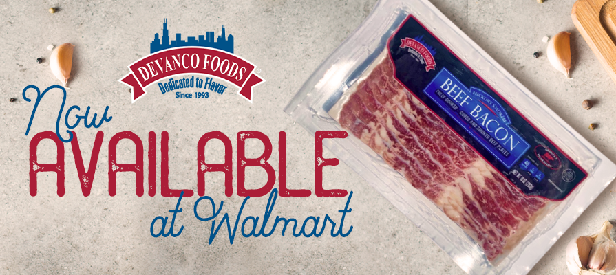 Devanco Foods Hickory Smoked Beef Bacon Launches At Walmart