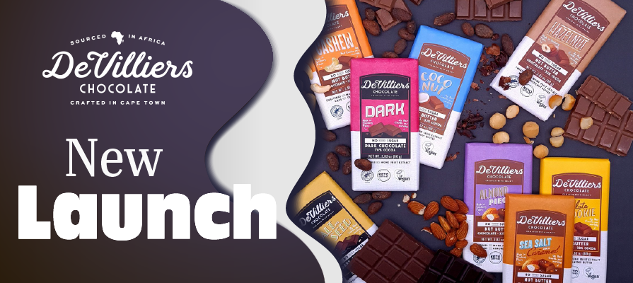 De Villiers Chocolate Launches New Plant-Based Chocolate Products