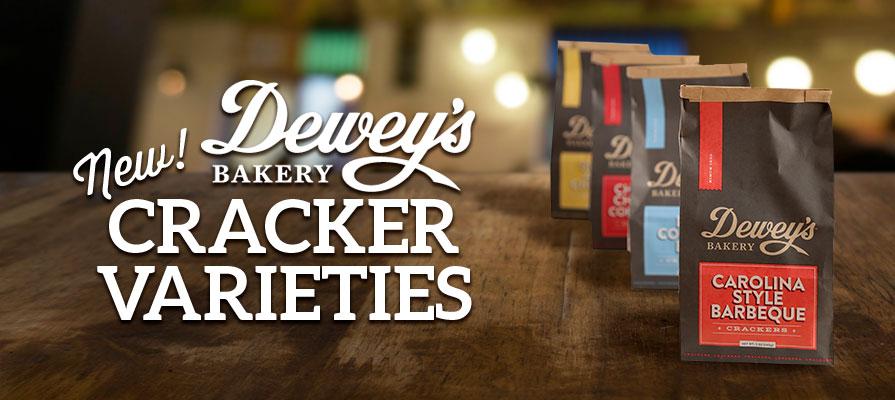 Dewey's Bakery Brings Classic Southern Flavors to the Fore with New Cracker Varieties