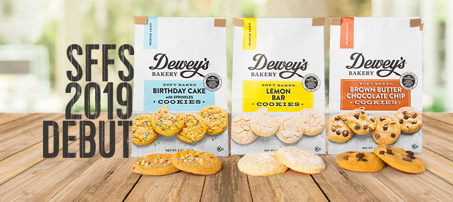 Dewey's Bakery Launches Soft Baked Cookies, Premium Snack Crackers, and Moravian Style Cookie Thins