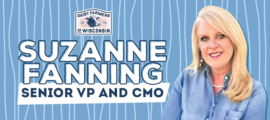 Dairy Farmers of Wisconsin Promotes Suzanne Fanning