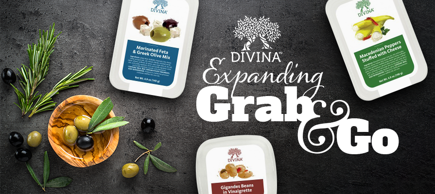 Divina Expands Deli Grab & Go Line