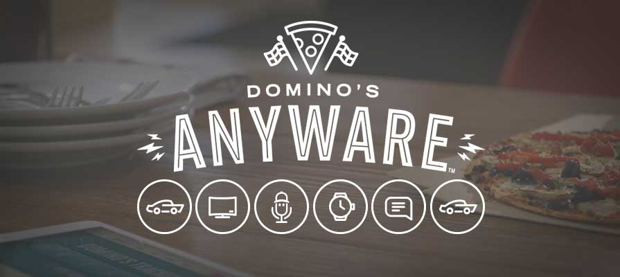 Domino's anyware integrated marketing