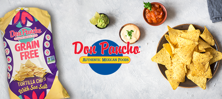 Don Pancho Launches Grain Free Tortillas and Chips With Cassava Flour and Flax Seeds; Ricardo Baez Shares