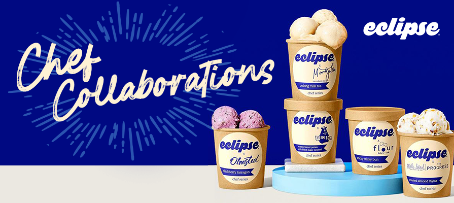 Eclipse Ice Cream Collaborates With Notable Chefs in New Partnership