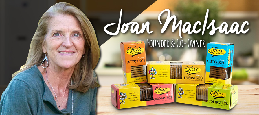 Effie's Homemade's Joan MacIsaac Discusses Product Line and Teases Another