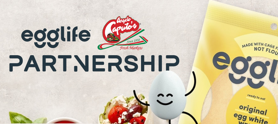 EggLife Foods Announces Partnership with Angelo Caputo's Fresh Markets