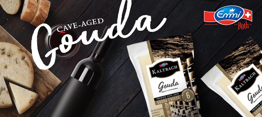 Emmi® Introduces New Kaltbach™ Cave-Aged Gouda