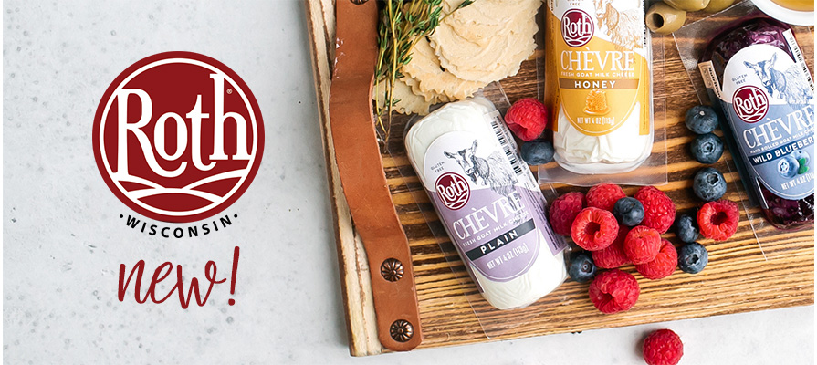 Roth® Cheese Adds Chèvre to its Collection of Specialty Cheeses