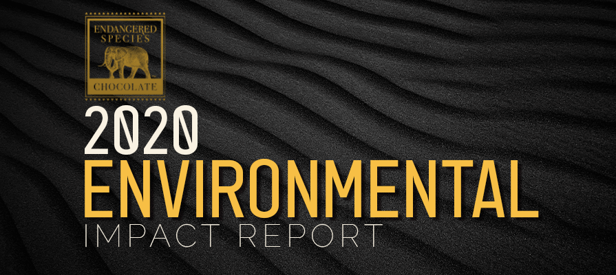 Endangered Species Chocolate Releases its 2020 Environmental Impact Report