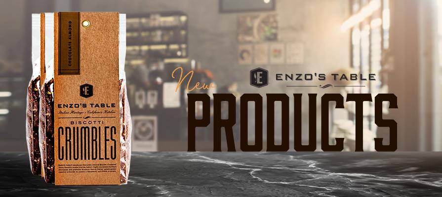 ENZO's Table Launches New Biscotti Crumbles; Vincent Ricchiuti Comments