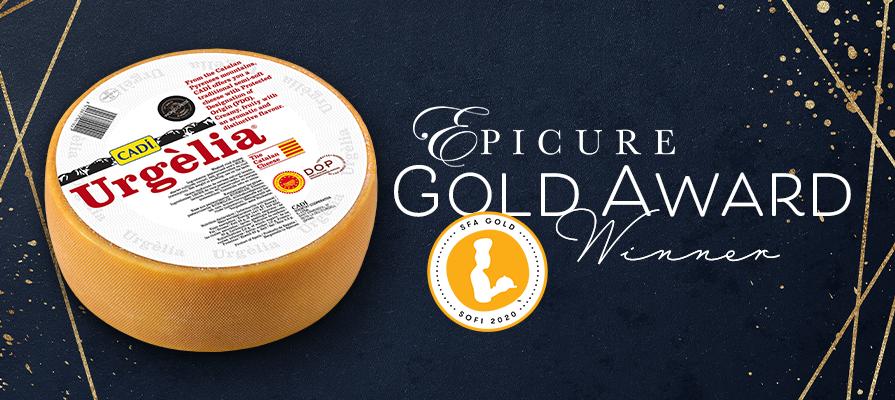Epicure Foods Corporation's CADI Urgèlia Wins Gold at the 2020 sofi™ Awards