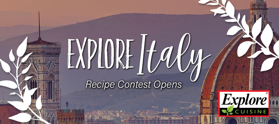 Explore Cuisine Launches Recipe Contest for a Chance to Win an Italian Getaway