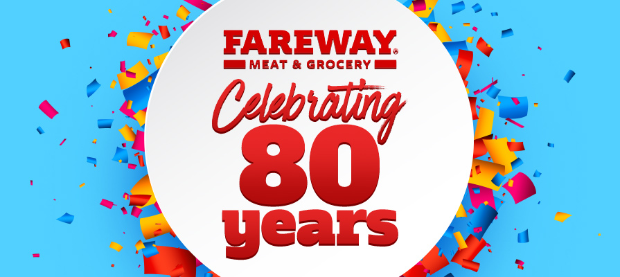 Fareway Launches New Meat-Focused Rebrand for Its 80th Anniversary