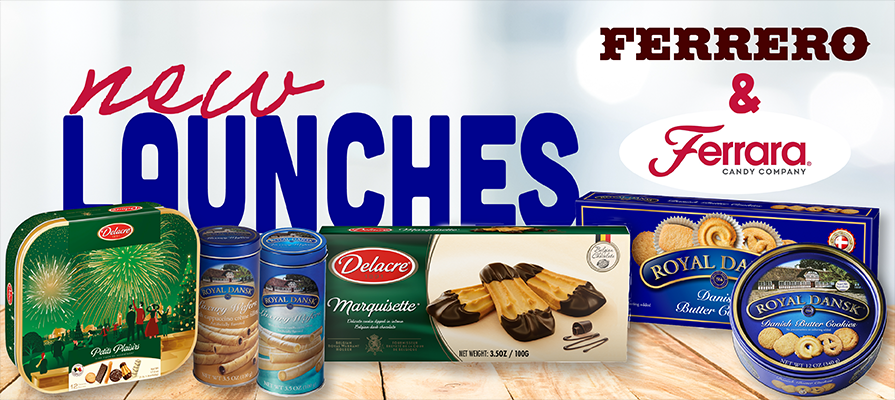 Ferrara Cookies GM Launches Two Specialty Cookie Brands in Partnership With Ferrero