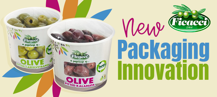 Ficacci Olive Company Launches New Ficacci PaperCup® Packaging