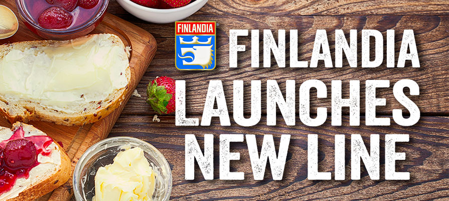 Finlandia Launches New Spreadable Butter Line