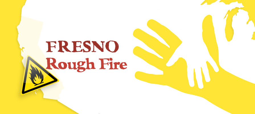 Fresno County Rough Fire Evacuees Call for Assistance for Livestock