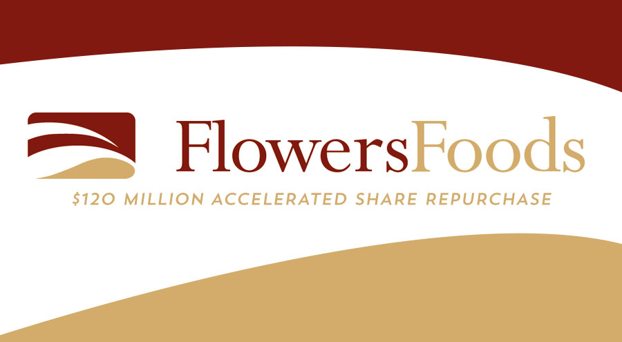 Flowers Foods Enters $120 Million Accelerated Share Repurchase