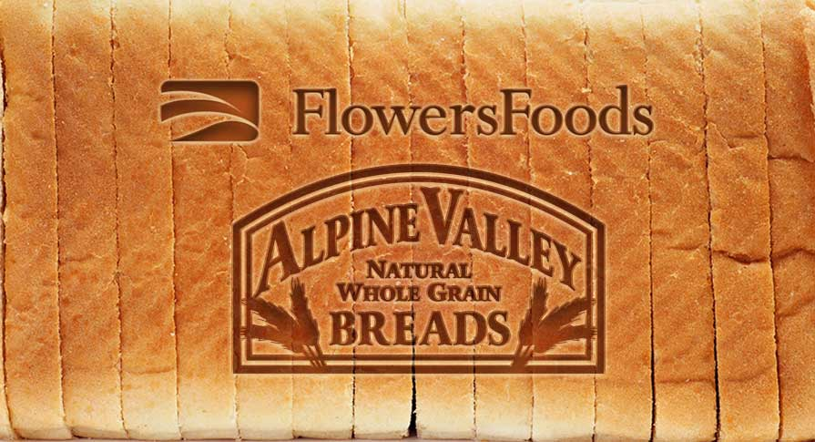 Flowers Foods to Acquire Alpine Valley Bread Company