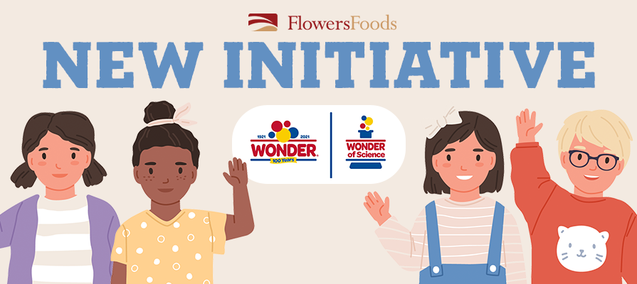 Flowers Foods' Wonder Bread Announces  Wonder Of Science  Initiative To Support K-12 Science Education