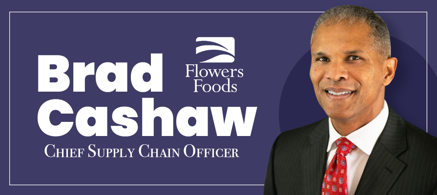 Flowers Foods Appoints Brad Cashaw New Chief Supply Chain Officer