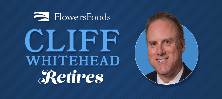 Flowers Foods VP of Sales for Vending Channel Cliff Whitehead Announces Retirement