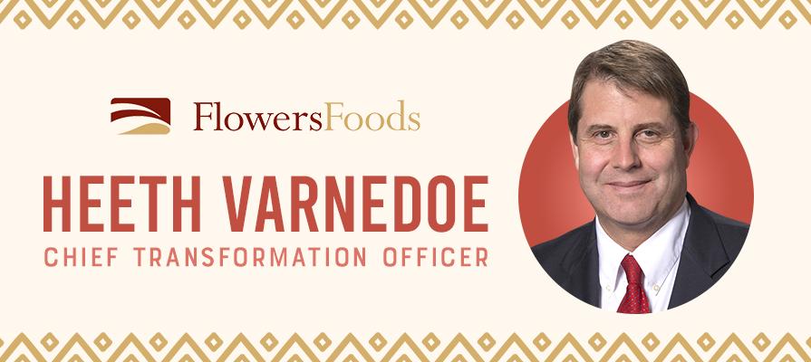 Flowers Foods Names Heeth Varnedoe Chief Transformation Officer
