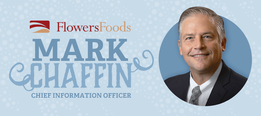 Flowers Foods Names Mark Chaffin as Chief Information Officer