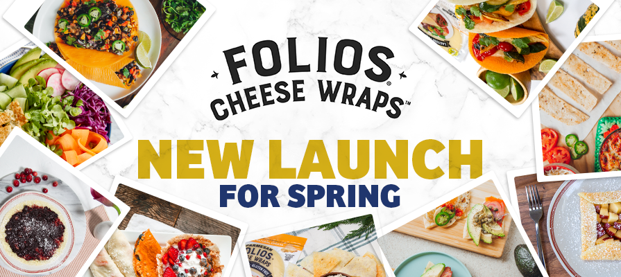 Norseland-Owned Folios Cheese Wraps® Launches Keto Recipes for Spring