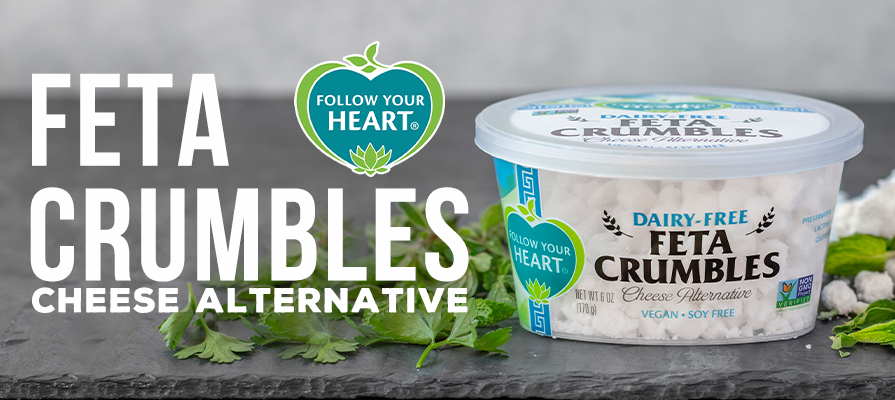 Follow Your Heart Launches Dairy-Free Feta Crumbles Cheese Alternative