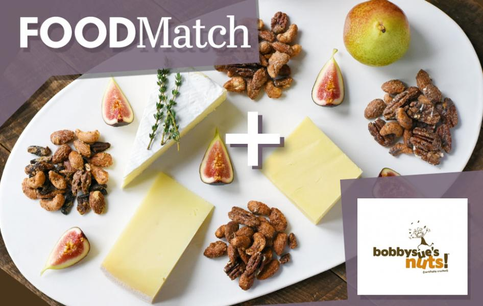 FOODMatch Partners with BobbySue's Nuts