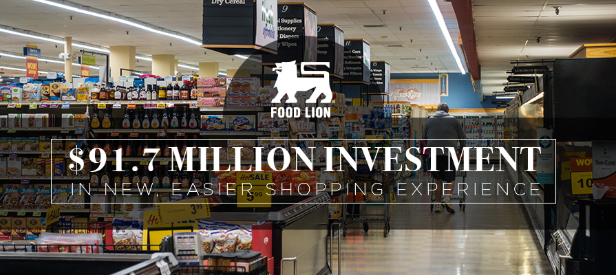 Food Lion Unveils New Shopping Experience with Completion of $91.7 Million Investment in 63 Roanoke, Virginia Stores