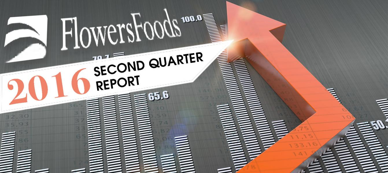 Flowers Foods, Inc. Posts 2016 Q2; Sees Increased Sales