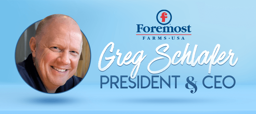 Foremost Farms Names Greg Schlafer President and CEO