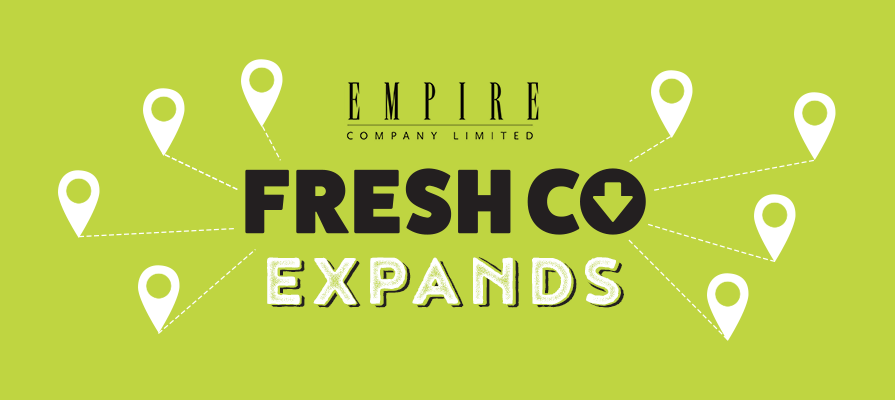 Empire Accelerates FreshCo Expansion, Announcing First Two Alberta Locations and Four New Manitoba Locations