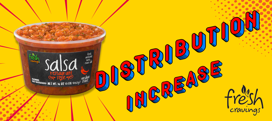 Fresh Cravings® Increases Distribution