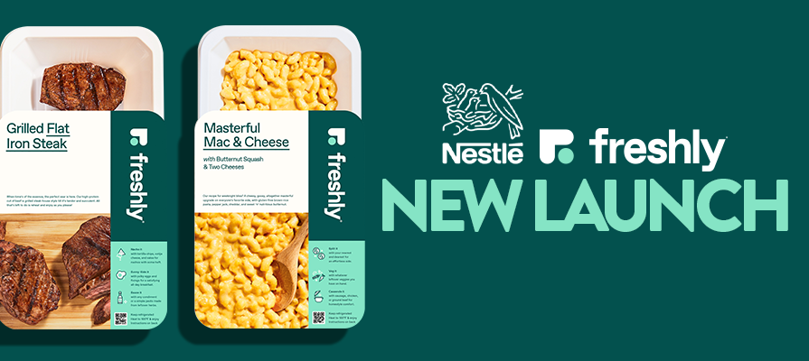 Nestlé Brand Freshly Launches Multi-Serve Proteins & Sides; Mike Wystrach Comments
