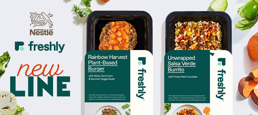 Nestlé Brand Freshly Rolls Out First-Ever Plant-Based Meals Line; Mike Wystrach Explains