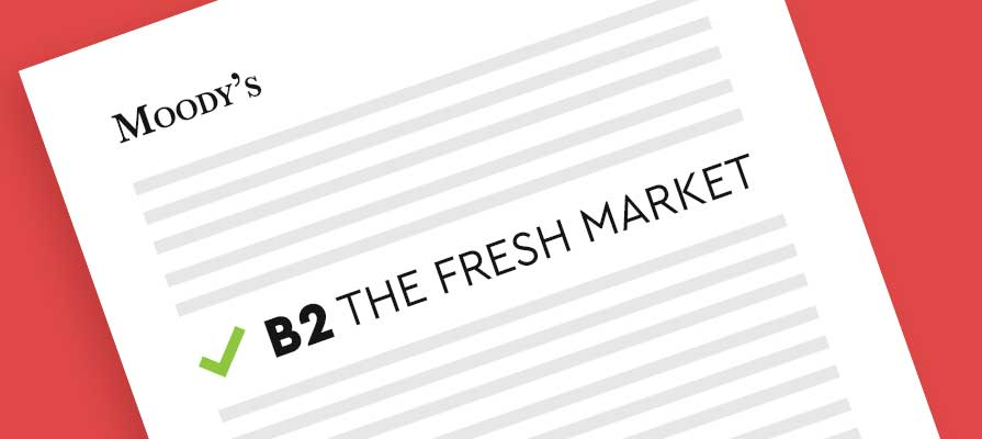 Moody's Investors Service Assigned The Fresh Market First-Time B2 Corporate Family Rating