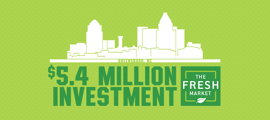 The Fresh Market Invests 5.4 Million Dollars into Greensboro For New Headquarters