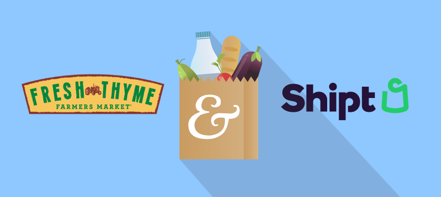 Fresh Thyme Farmers Market Partners With Target-Owned Shipt