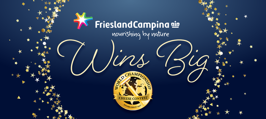 FrieslandCampina Wins 'Avalanche' Of World Championship Cheese Contest Awards