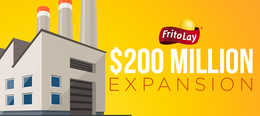 Frito-Lay Announces $200 Million Expansion, 120 New Jobs in Houston County