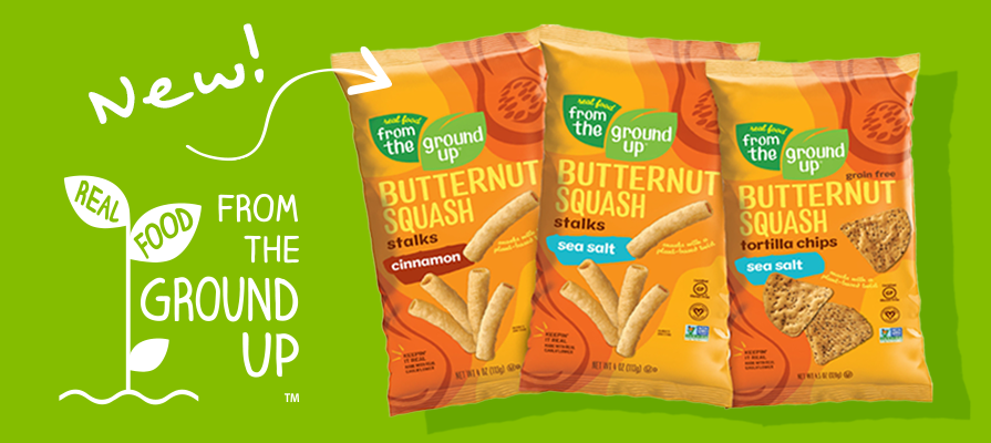 REAL FOOD FROM THE GROUND UP® to Debut Elevated New Look and New Products this Spring